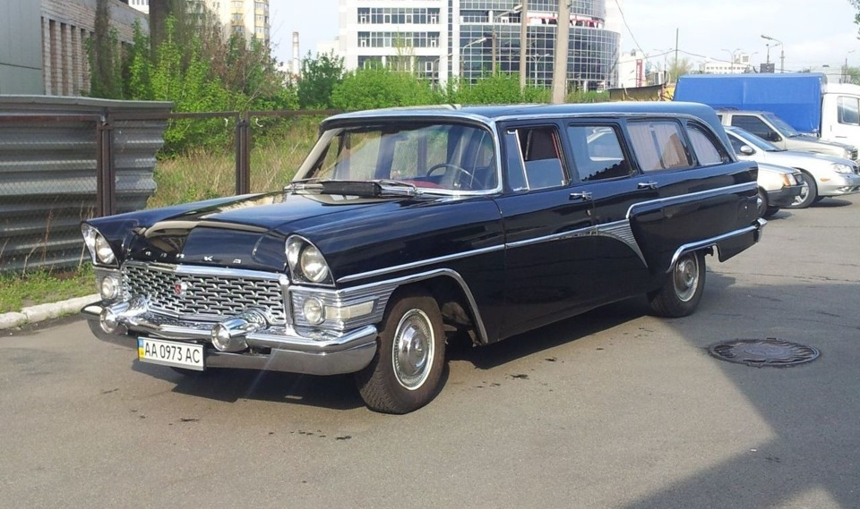 old and very rare Soviet GAZ-13 \