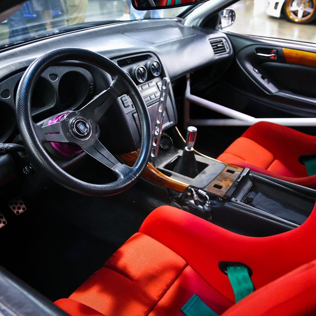 a super clean gs300 interior spotted at wekfest san jose lexus photo by japanifornia media. Black Bedroom Furniture Sets. Home Design Ideas
