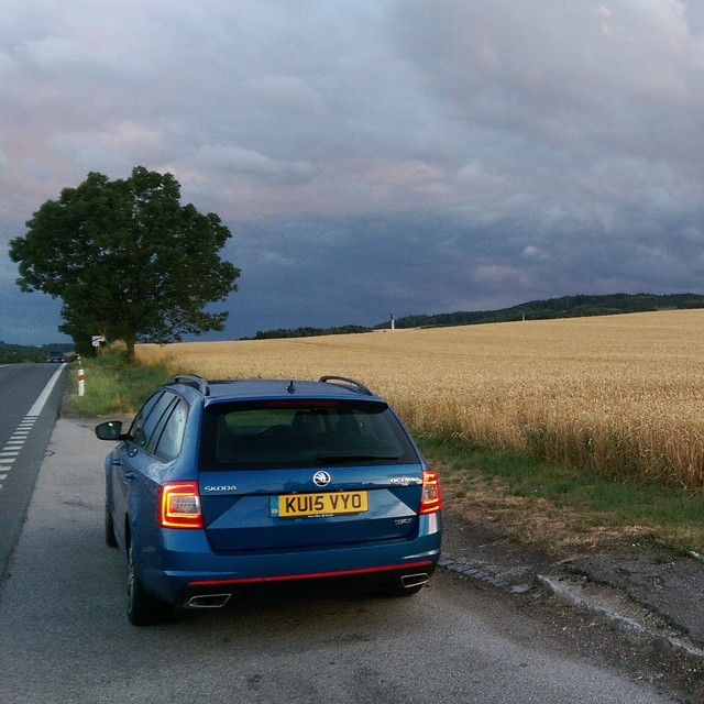 Took Our Skoda Octavia Vrs Home To The Czech Republic Some Awesome