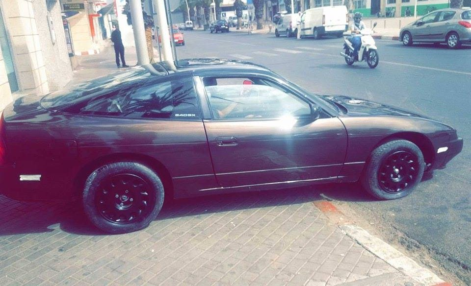 My S13 240sx KA24E, one very very rare cars in morocco ( less than ...