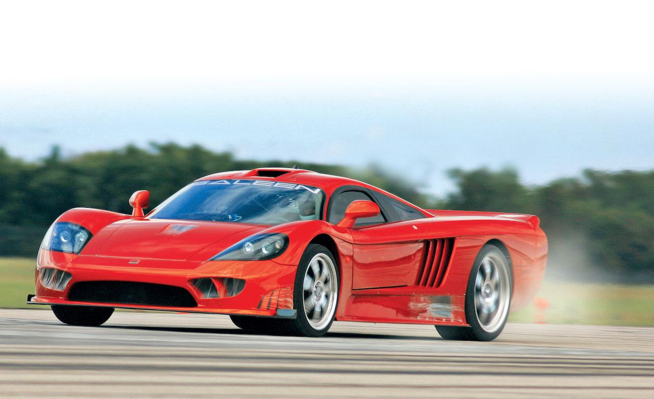 Saleen S7 Twin Turbo Perhaps One Of The Fastest American Cars Ever Made Next To The Hennessey