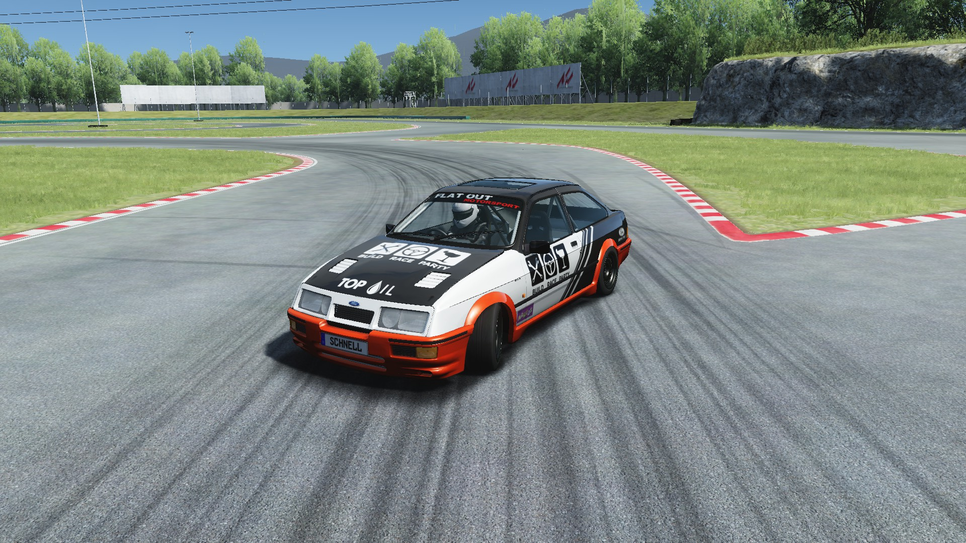 Anybody else drifts in Assetto Corsa?
