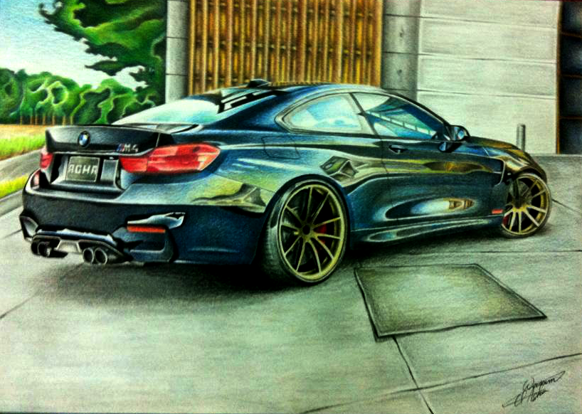 My Drawing Of The Mighty Bmw M4