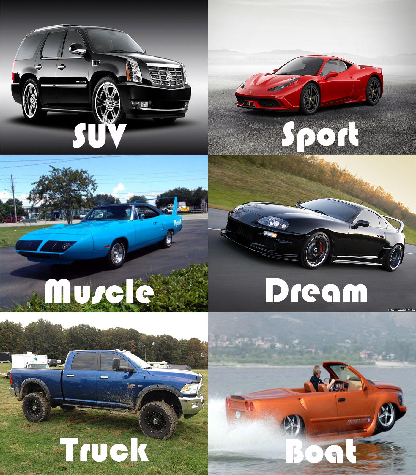 American Muscle Car Games