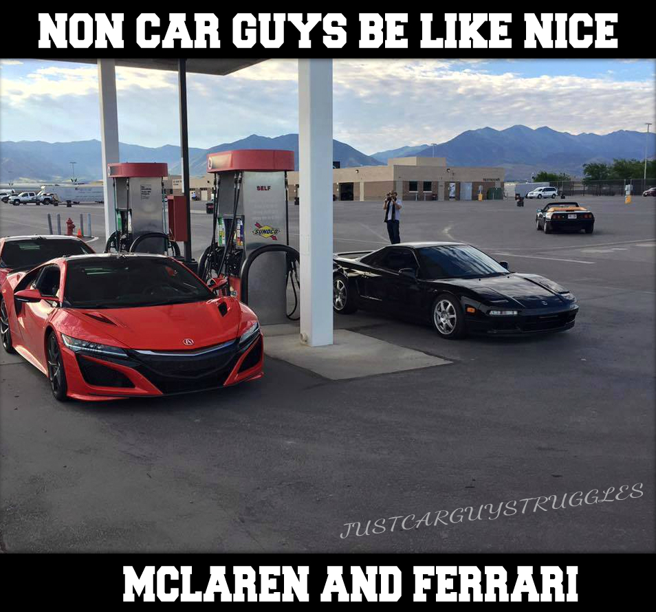 "Toyota Honda >> ""Non Car Guys be like"""