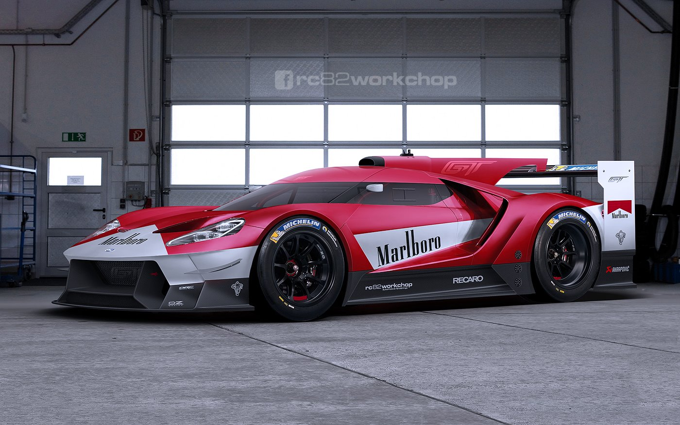The New Gt Meet A Marlboro Color Scheme What Do You Think And Also What Kind Of Scheme Would You Like To See On The Gt
