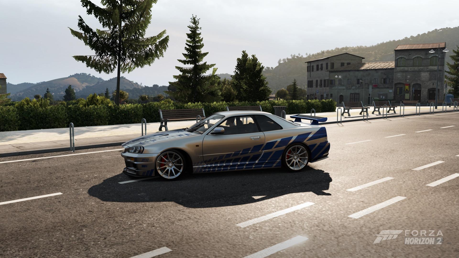 Brain S Nissan Skyline R34 Gt R In Forza Horizon 2