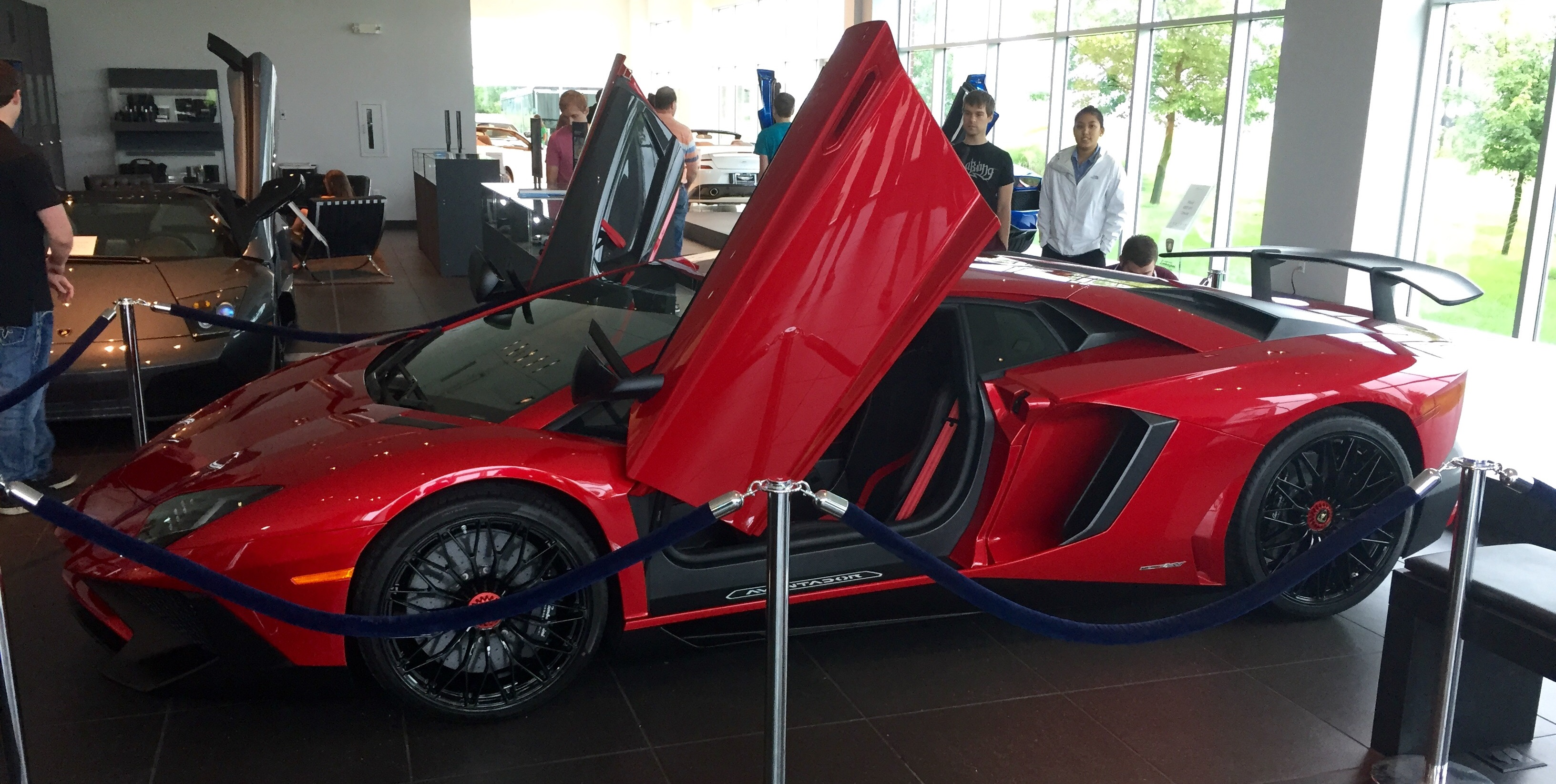 That Time I Went To The St. Louis Motor Cars Unveiling Of The Lamborghini  Aventador SV.... It Was A Very Good Day.