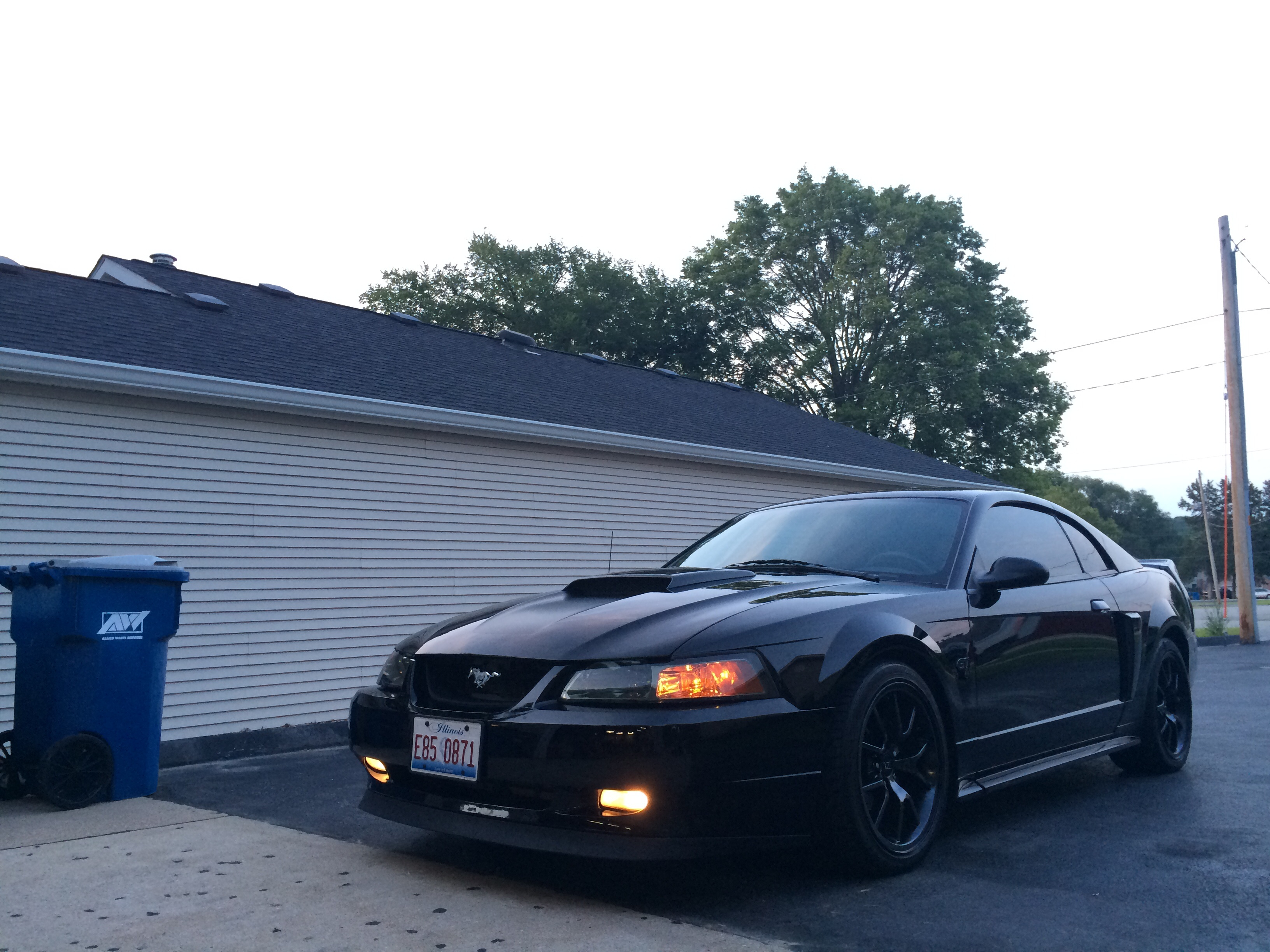 Heres my 2002 mustang gt may not be the fastest car in the world but its all mine and i couldnt love it more