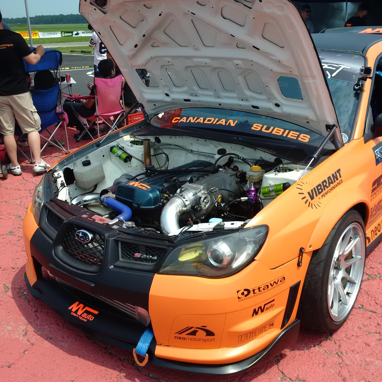 2JZ Powered Impreza Sti Drift Car :D It Was Awesome