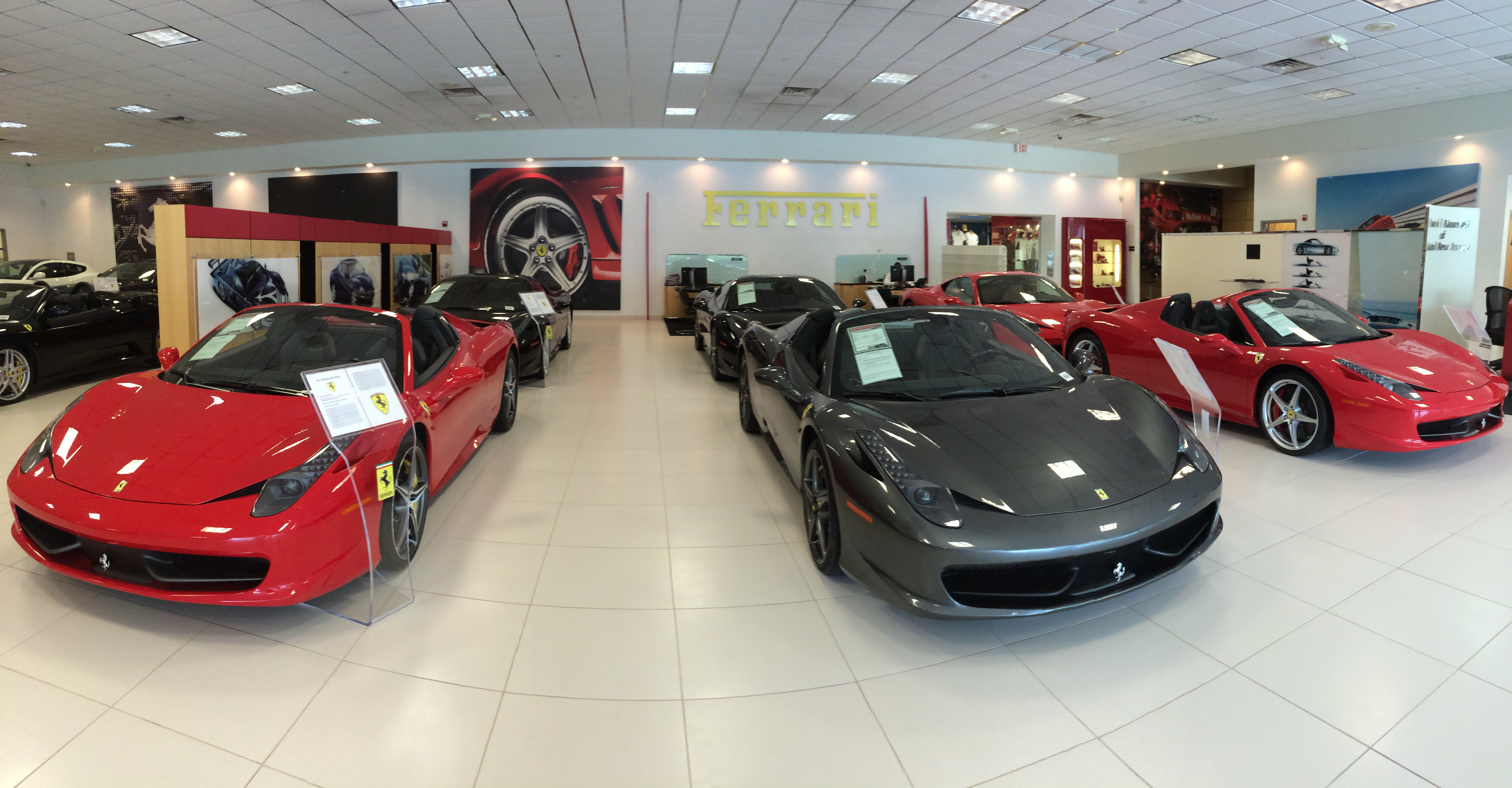 personal visit to the ferrari dealership in edison new jersey. Black Bedroom Furniture Sets. Home Design Ideas