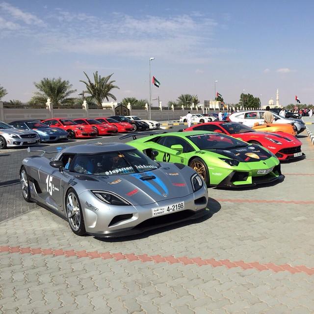 Choose ! 1. Koesniggsegg Agera R 2. DMC Aventador 3. Novitec Ferrari F12 U2013 # Kuwait