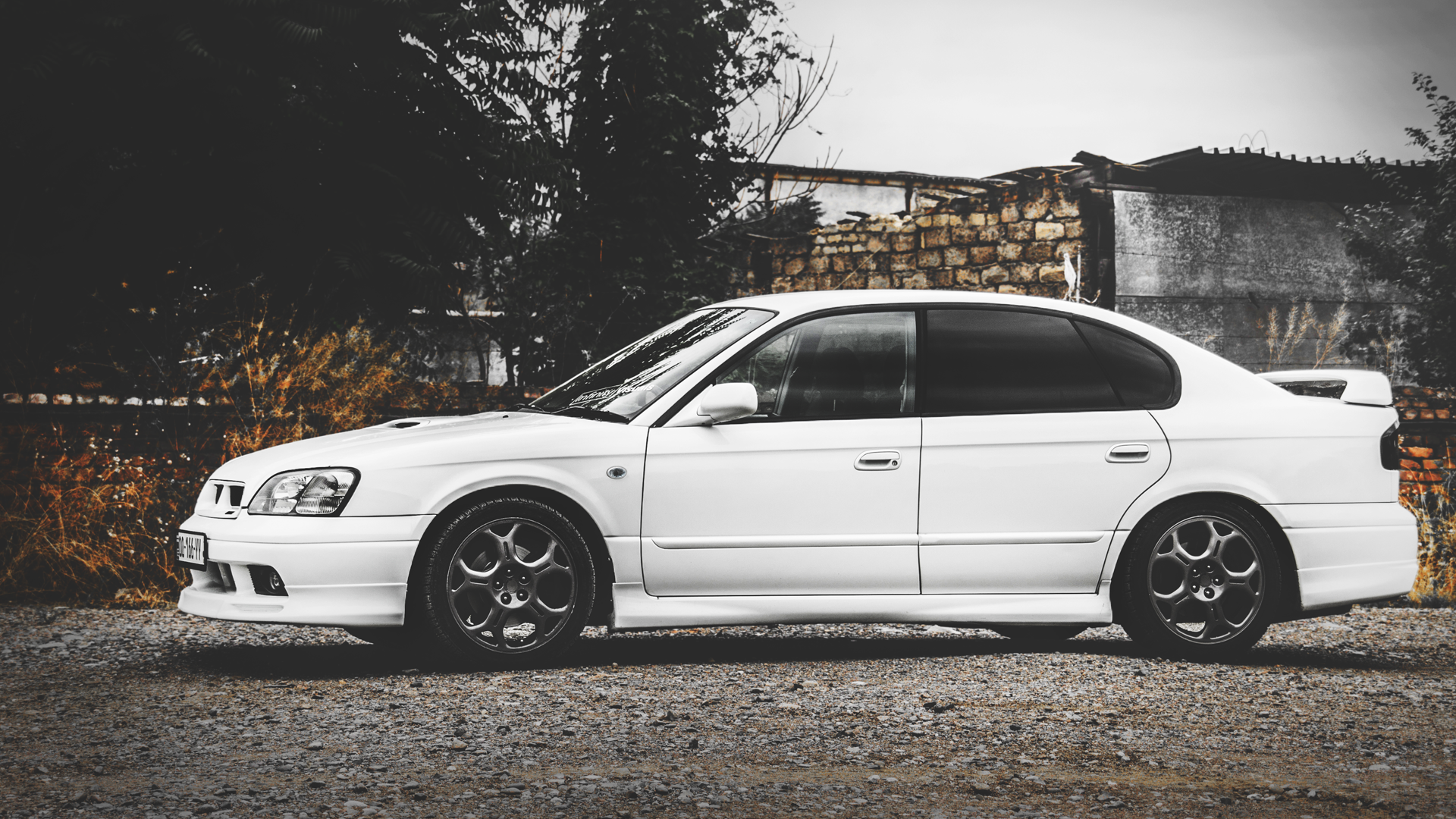 SUBARU Legacy B4 RSK Review (2001)