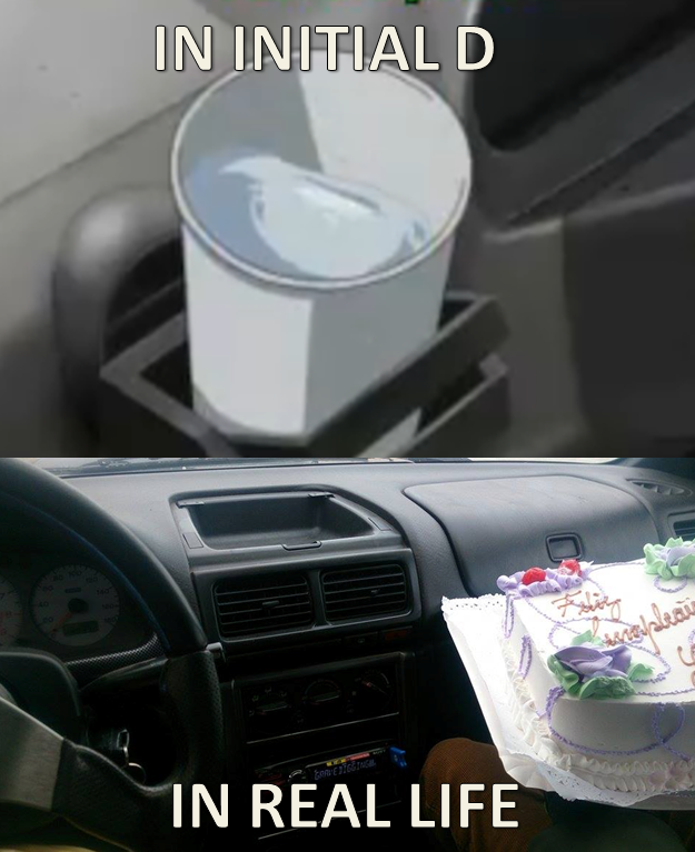 Initial D Glass Of Water Reality Check