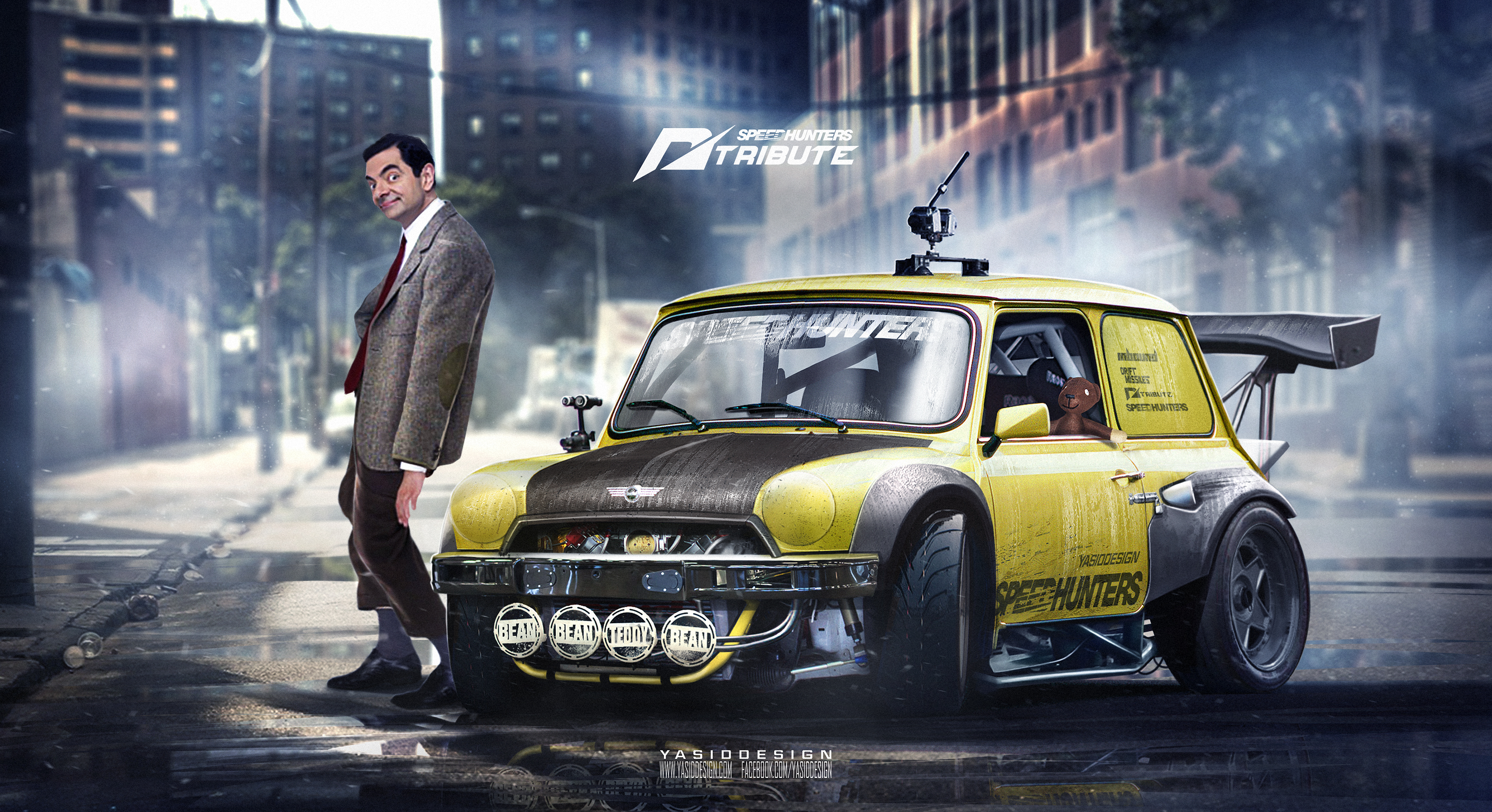 hey guys here 39 s another speedhunters nfs tribute added to the list featuring mr bean and teddy. Black Bedroom Furniture Sets. Home Design Ideas