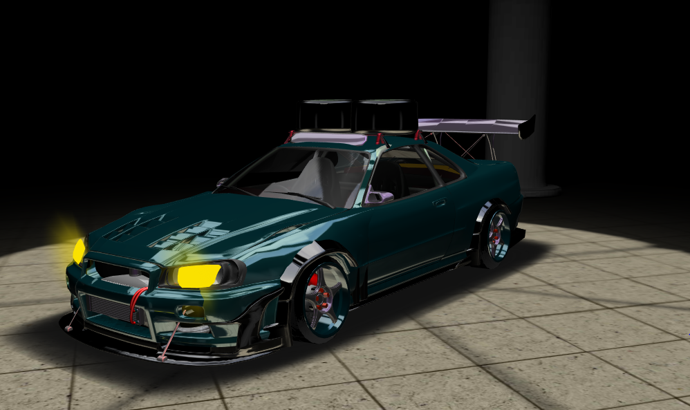 This is what I did with S-Tuner Virtual 3D Car Builder, what