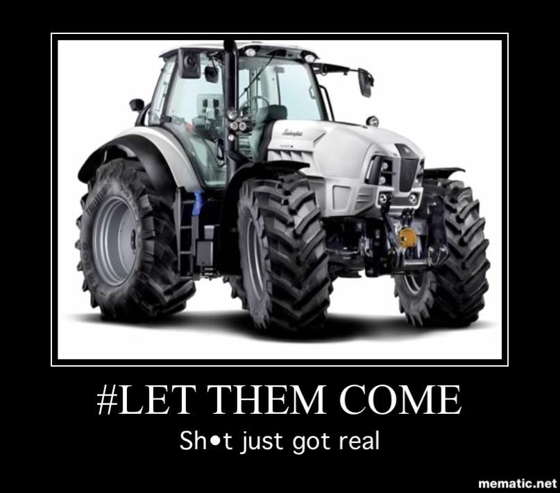 Letthemcome I Have A Lamborghini Tractor