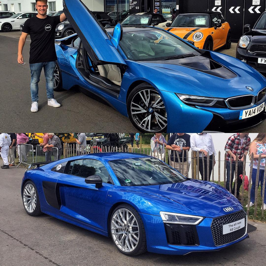 How About This Decision R8 V10 Plus Vs Bmw I8 R8 Slightly More