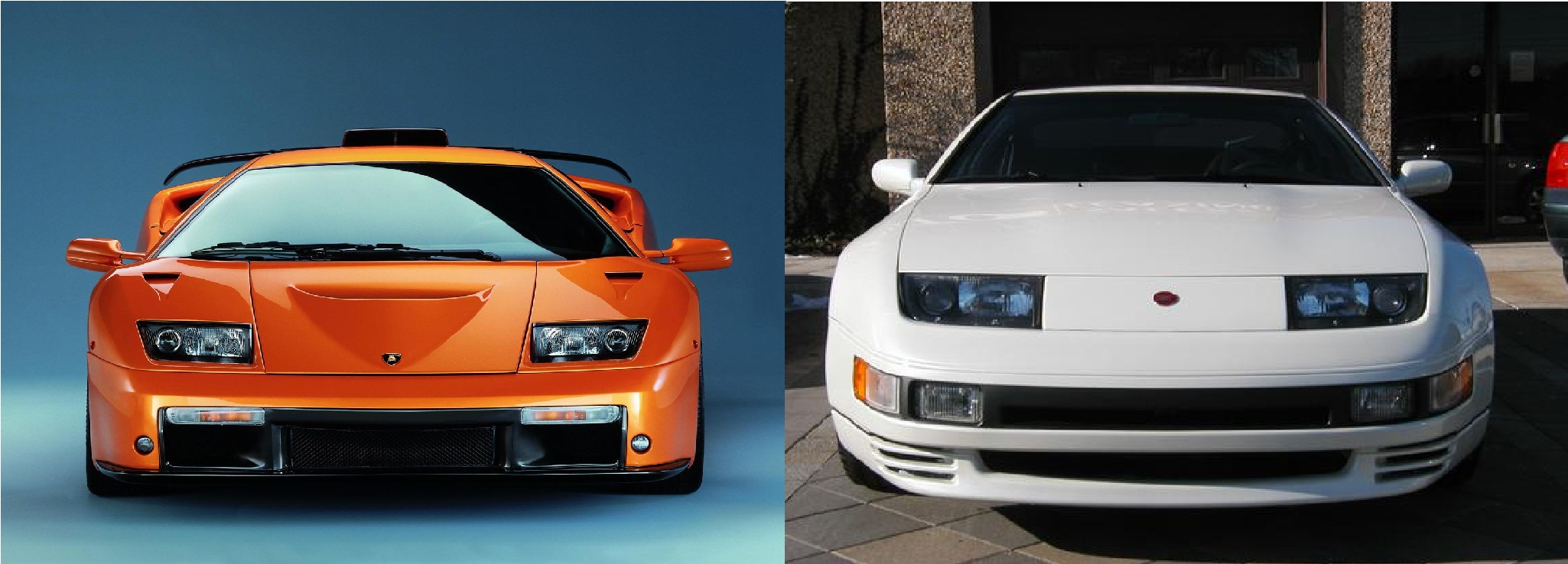I Just Realized The Diablo And The 300zx Share The Same
