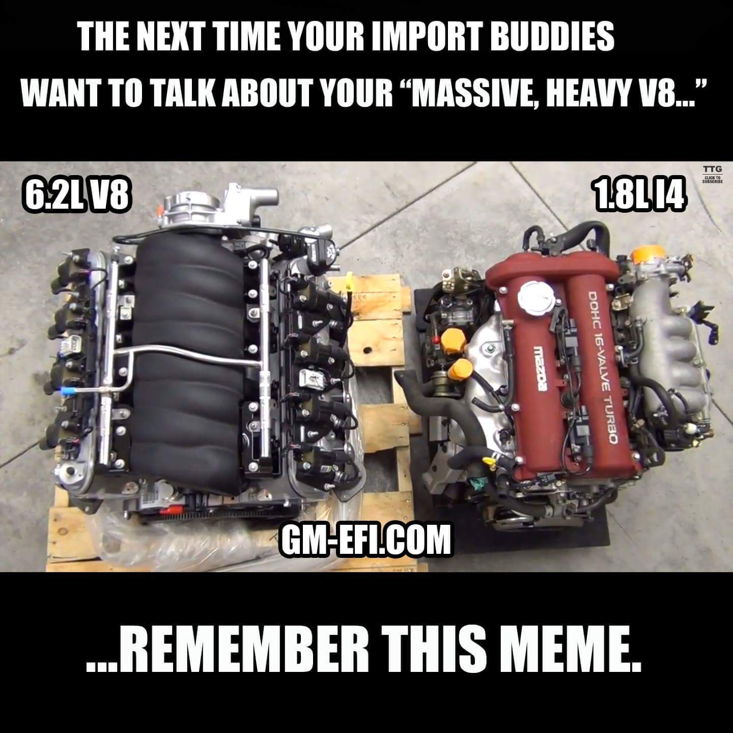 Shots fired  But really  V engines are crazy compact