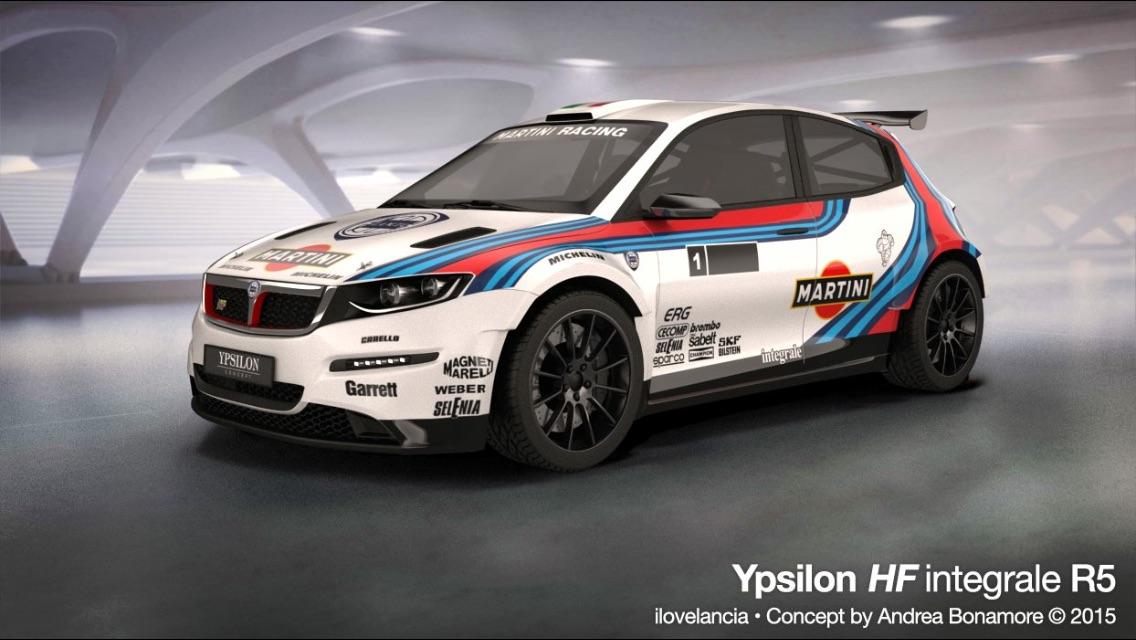 Lancia Ypsilon Rally Concept Not Quite An Integrale But