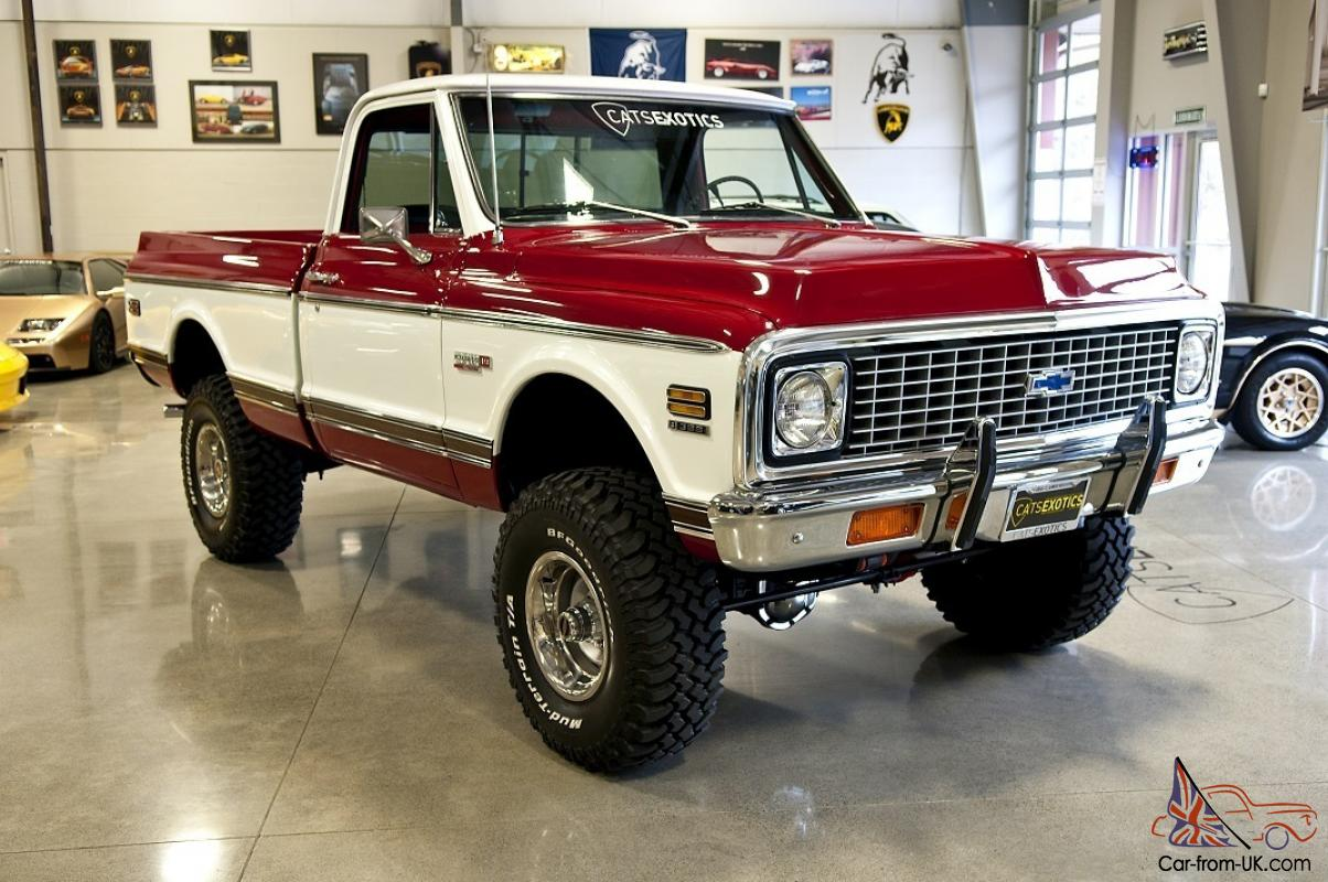 Clean Chevy K20 4x4 Could Get Something Like This Soon