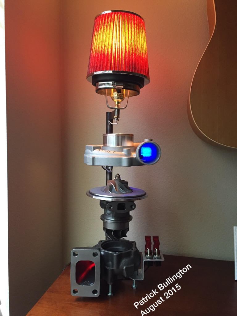 Anybody Like The Turbo Lamp I Made? Took Me All Summer. If You Guys Would  Like I Can Post A Detailed Video On The Operation And How I Made It :) And  ...