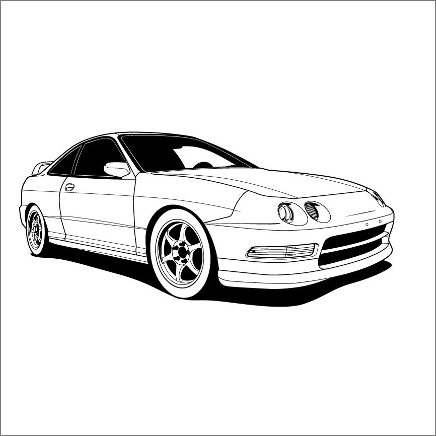 Integra Vector Illustration
