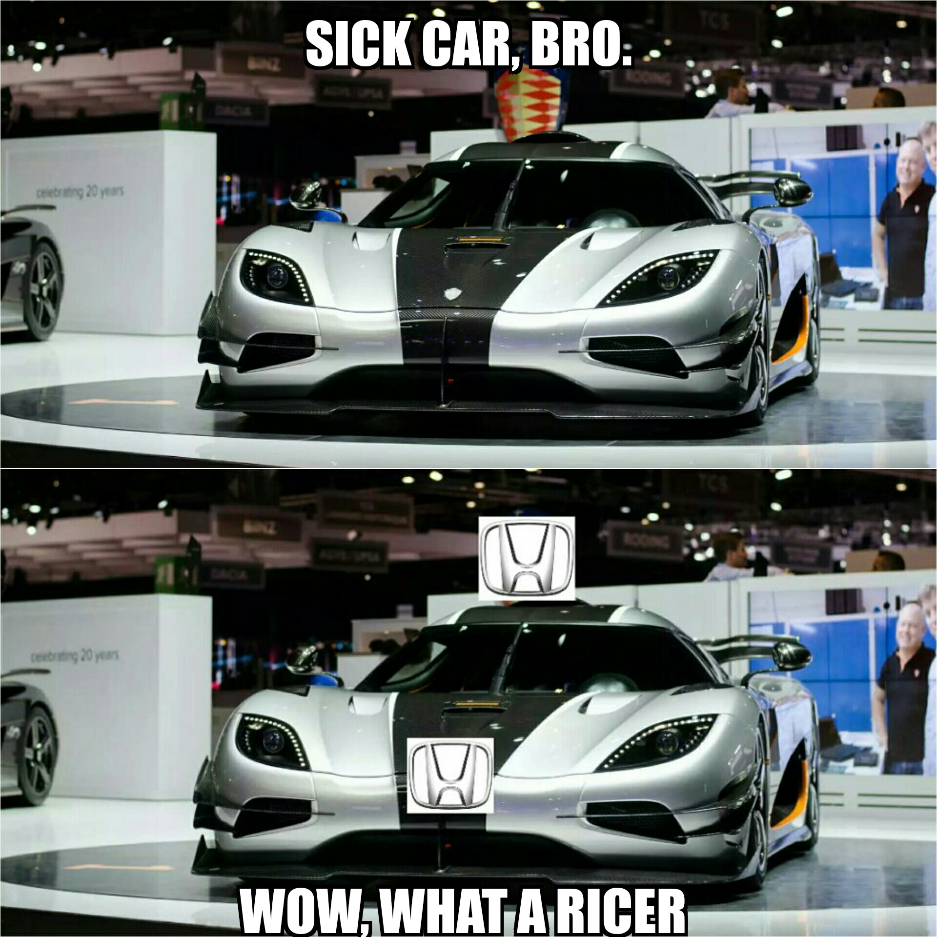 Supercar Ricer Is What Happens When Supercars Show Up To