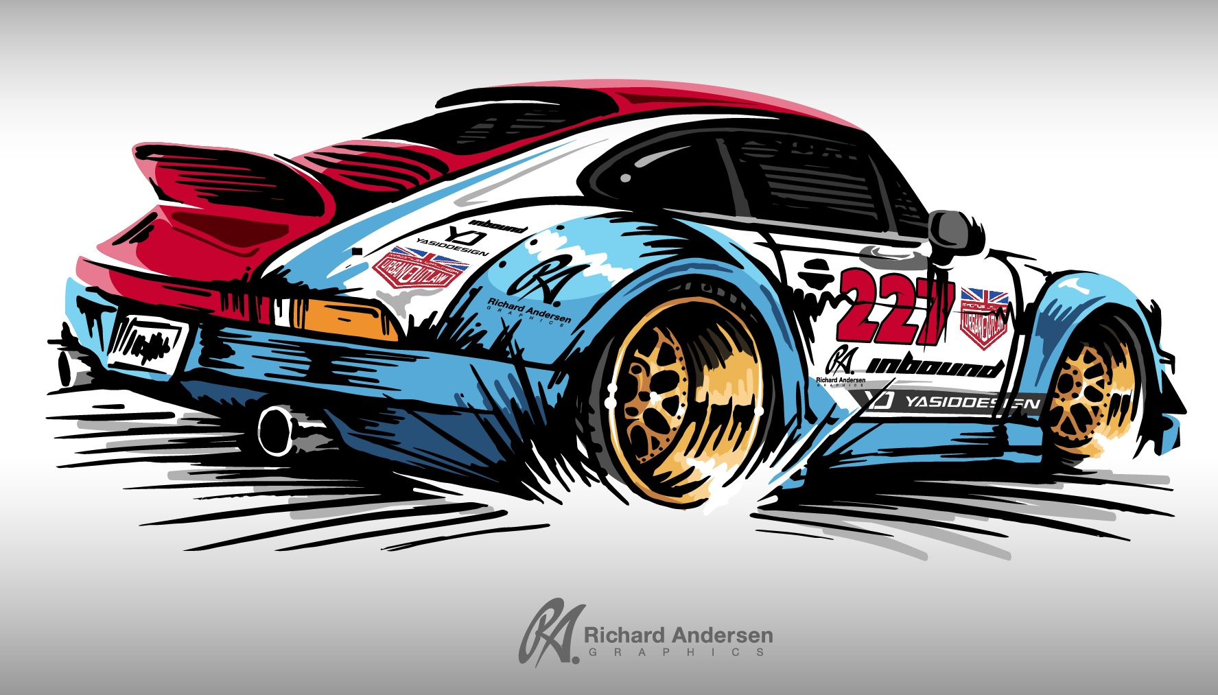 Magnus Walker Inspired Porsche This Was Awesome To Push This New