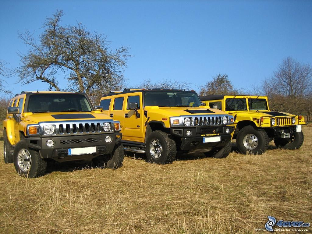 What Is Peoples Thought On The Hummer H1 H2 H3
