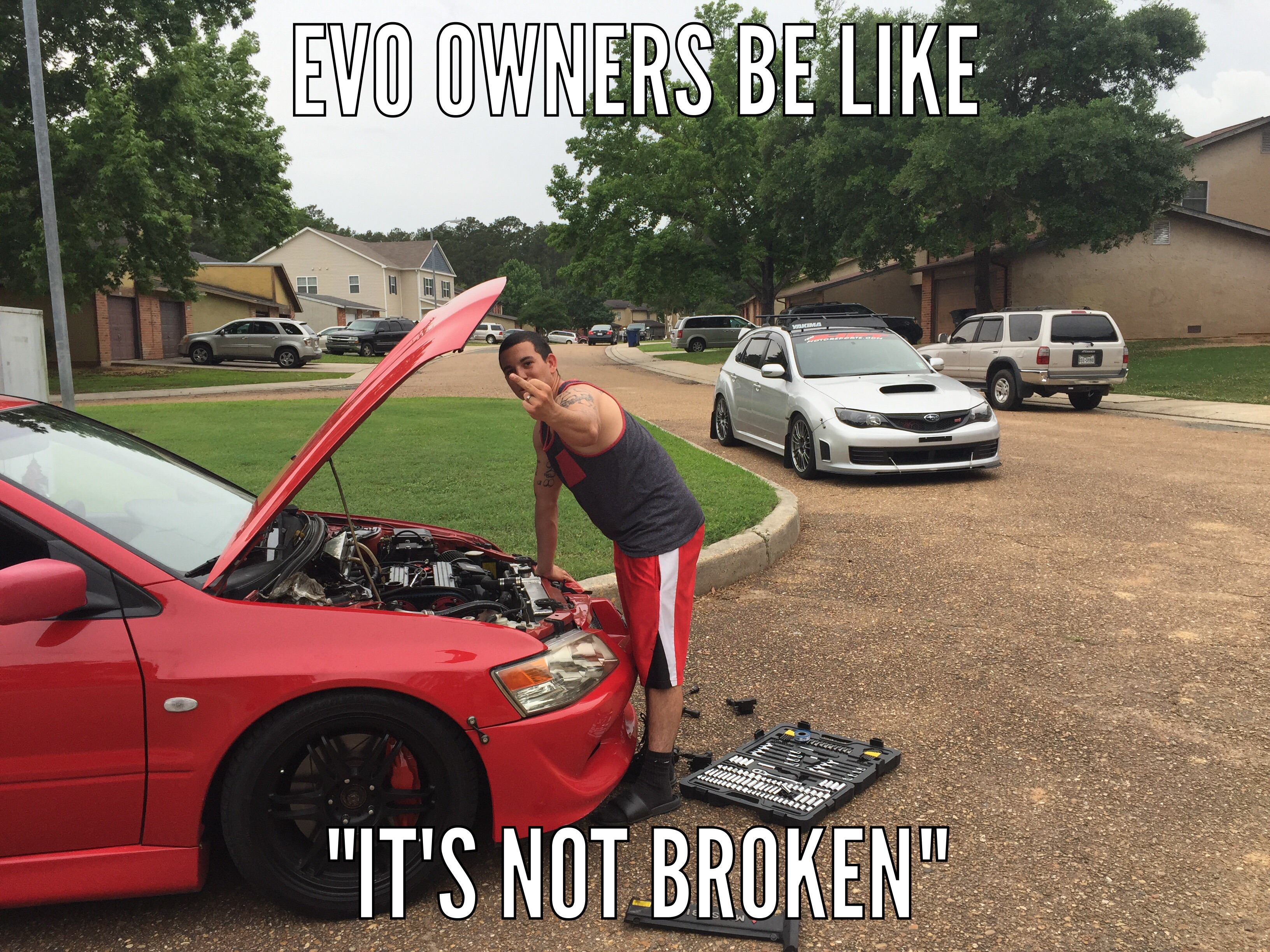 The On Going Relationship Of Sti And Evo Friends