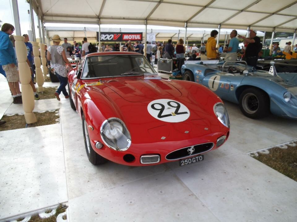FerrariFriday Nick Mason's 250 GTO at CarFest 2013  Such a beautiful