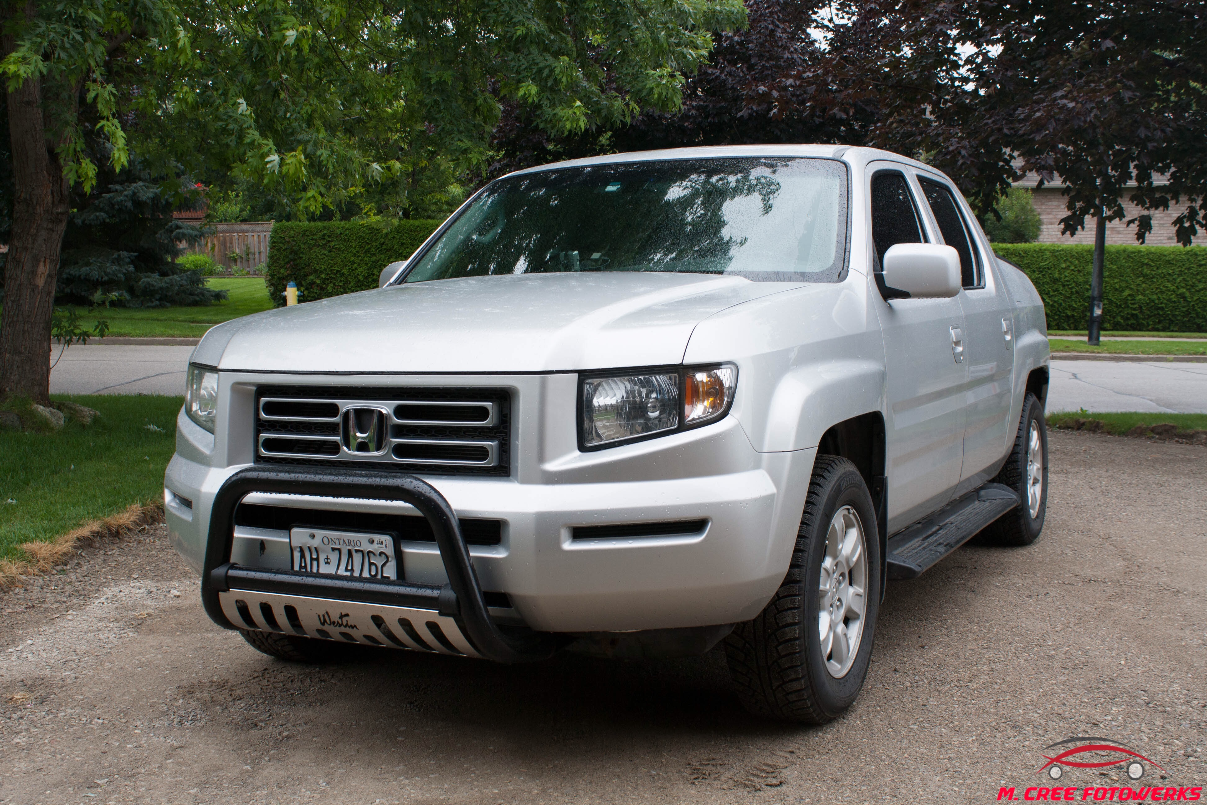 My Ford Touch Screen Is Black >> My baby, 06' Ridgeline RTL. Exterior: Westin bull bar ...