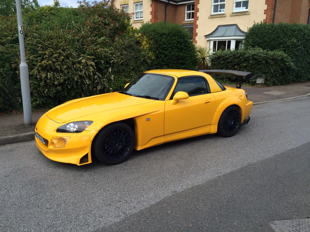 My brother's Spoon S2000 that he bought recently :D