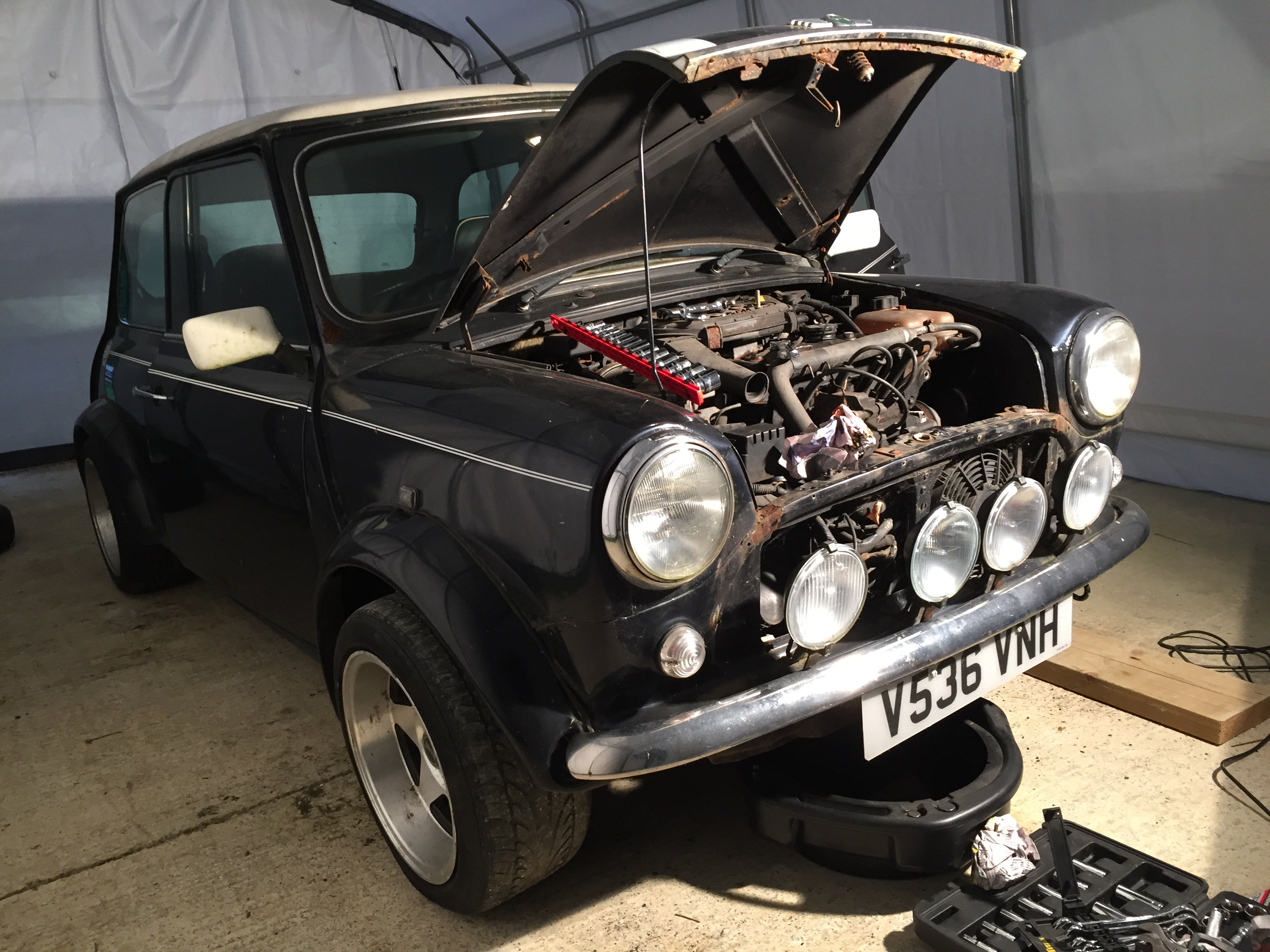 My Current Project A 1999 Rover Mini Cooper 13 Mpi Bought For 300