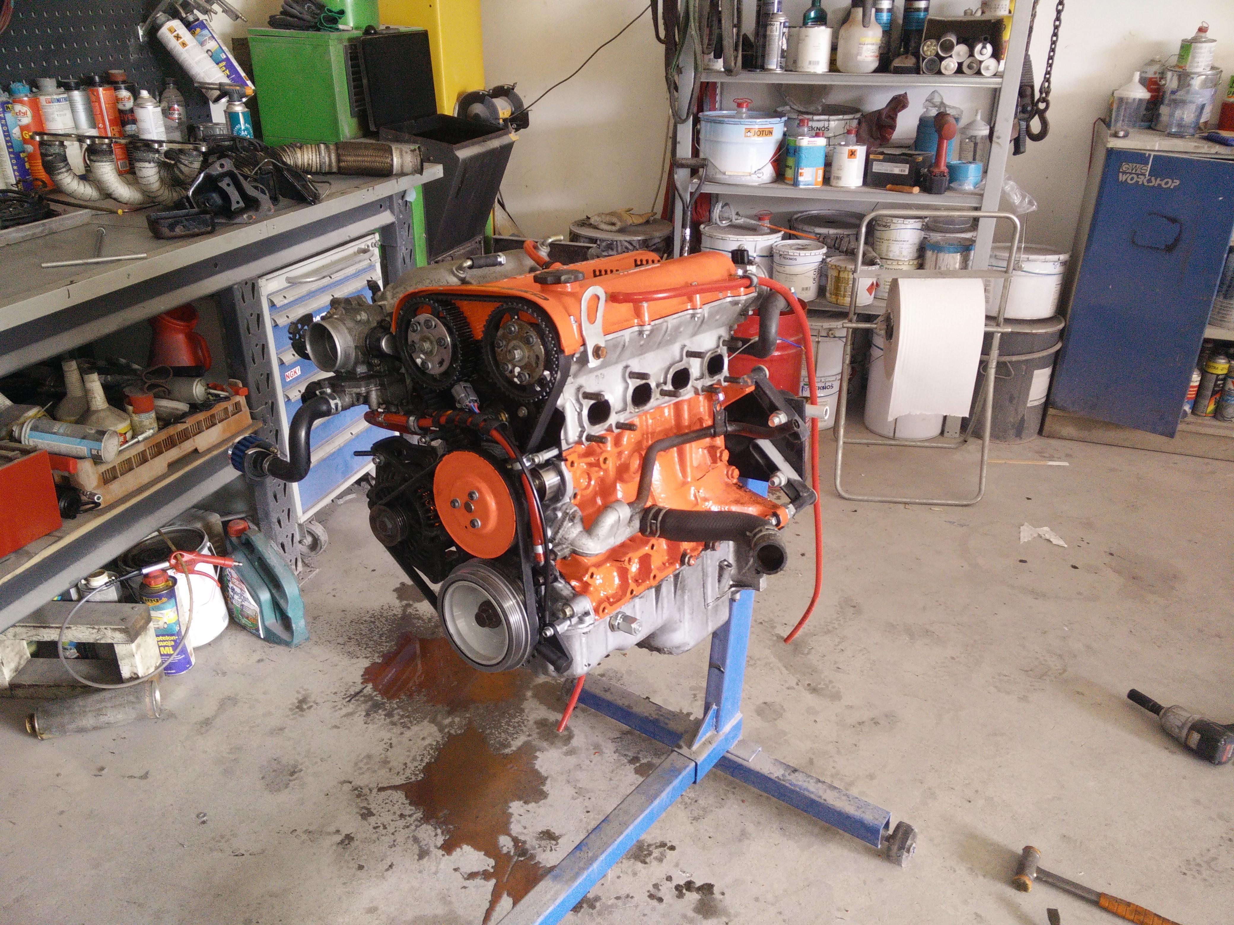 Time Attack Mazda BP 200bhp race engine built myself Unfortunately