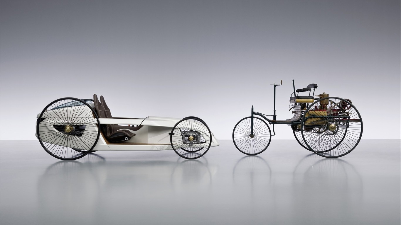TBT I think this is really cool! The 1886 Benz Patent-Motorwagen ...