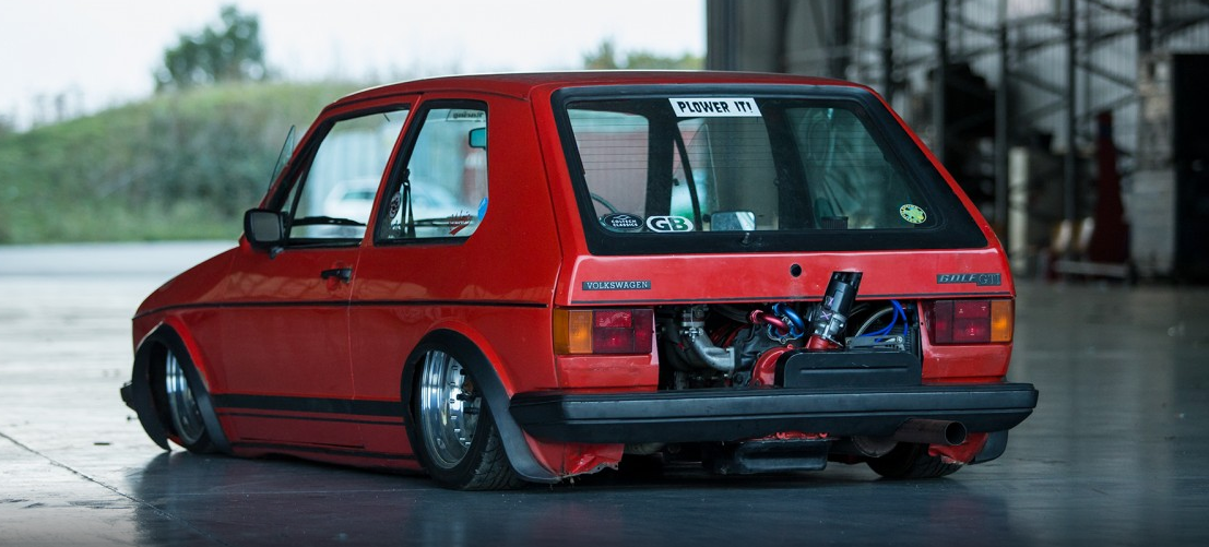 Seeing How You Guys Liked The Vw Caddy Here S A Slammed
