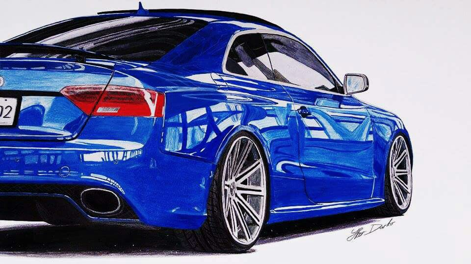 Audi Rs Xcm I Hope You Like It Fb Page Car Drawings - Audi car drawing