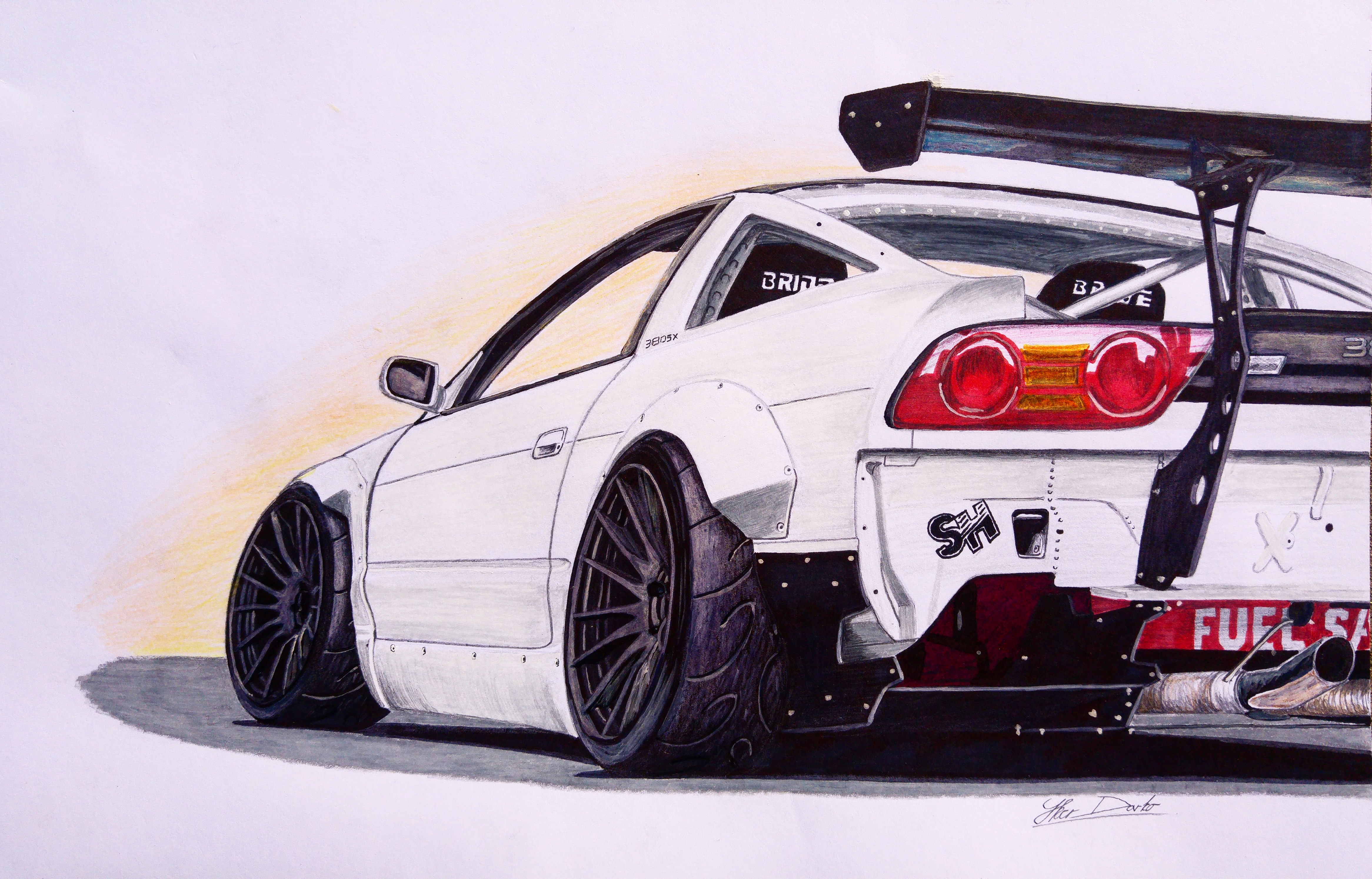 Finished Version Quot Nissan 380sx Quot I Hope You Like It