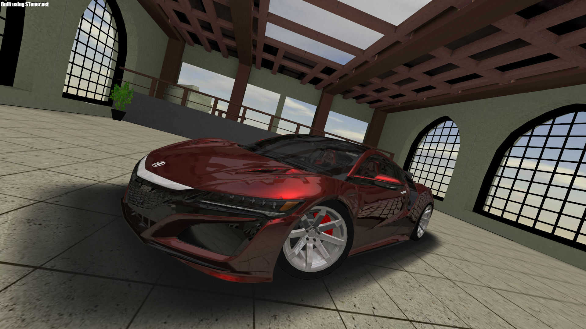 Photoshoot with a lowered NSX in S-tuner! Of course, mods