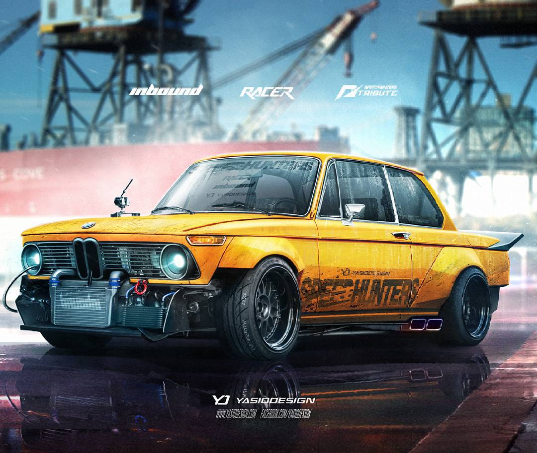 76 Bmw 2002 Modified: 1974 BMW 2002 With A Twist. Inbound Racer Package