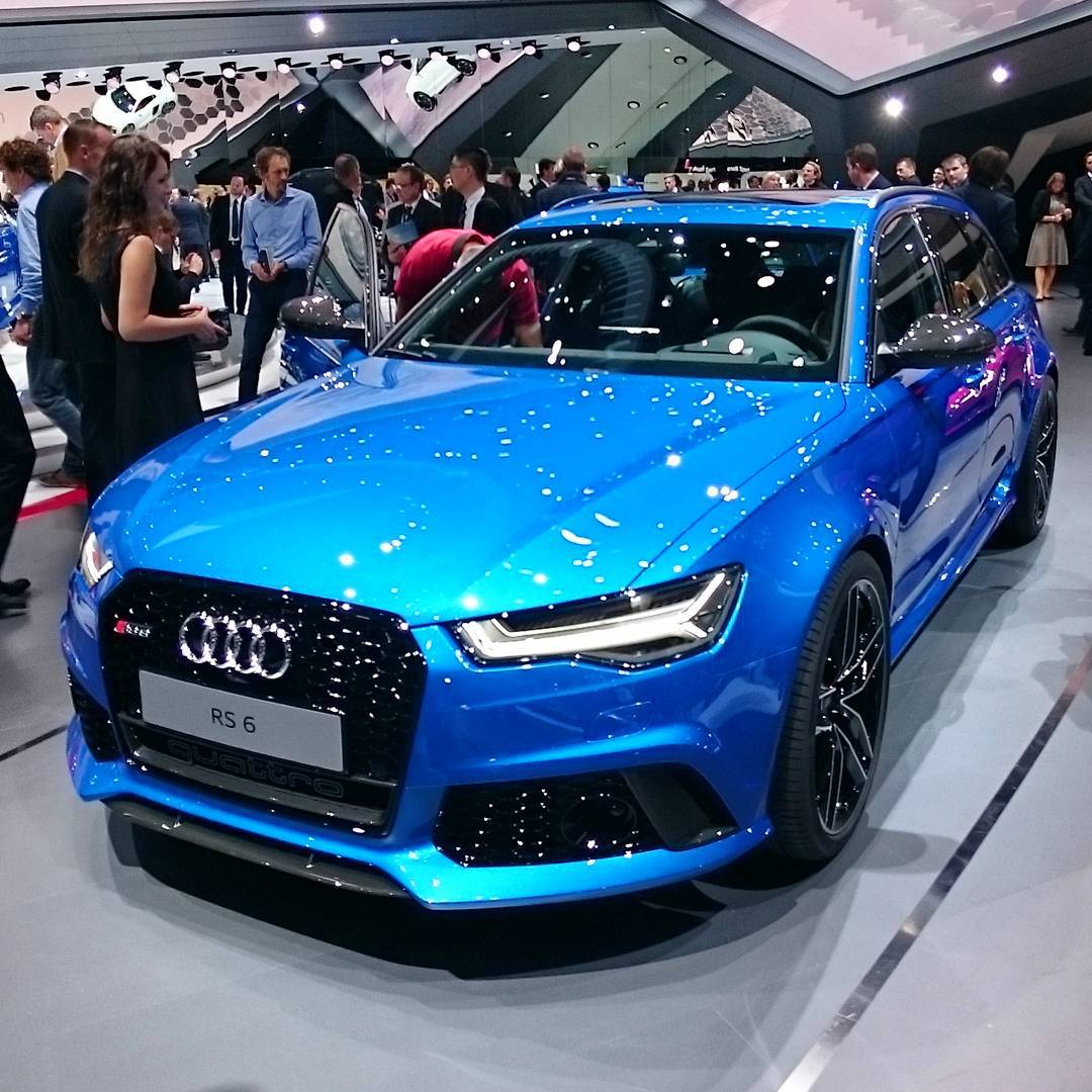 Audi S Ara Blue Is A Lovely Colour Especially On The Rs6