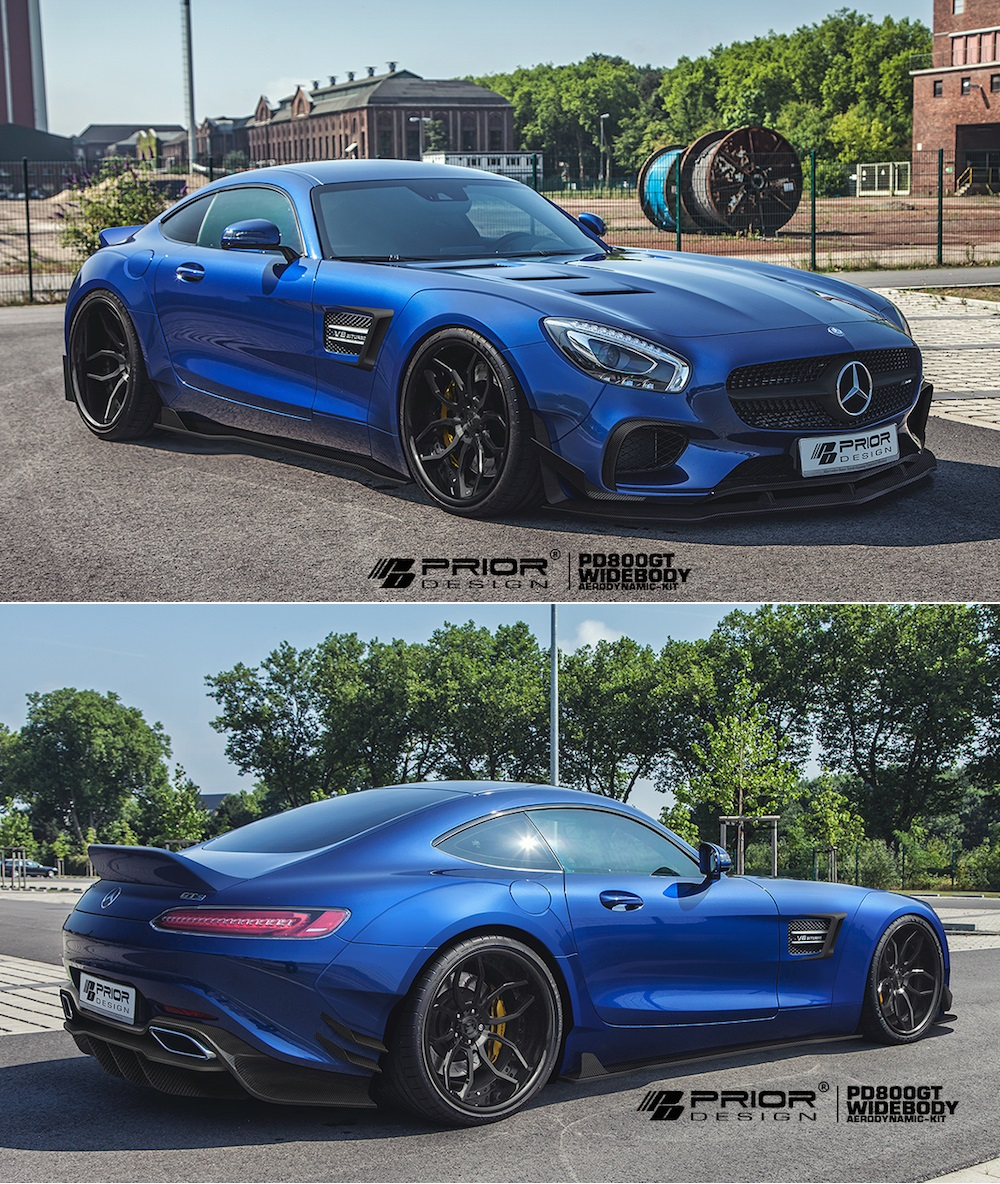 the tuning pany prior design modified a mercedes amg gt i think Mercedes-Benz Tuning W2010 the tuning pany prior design modified a mercedes amg gt i think it looks stunning what do you think yay or nay