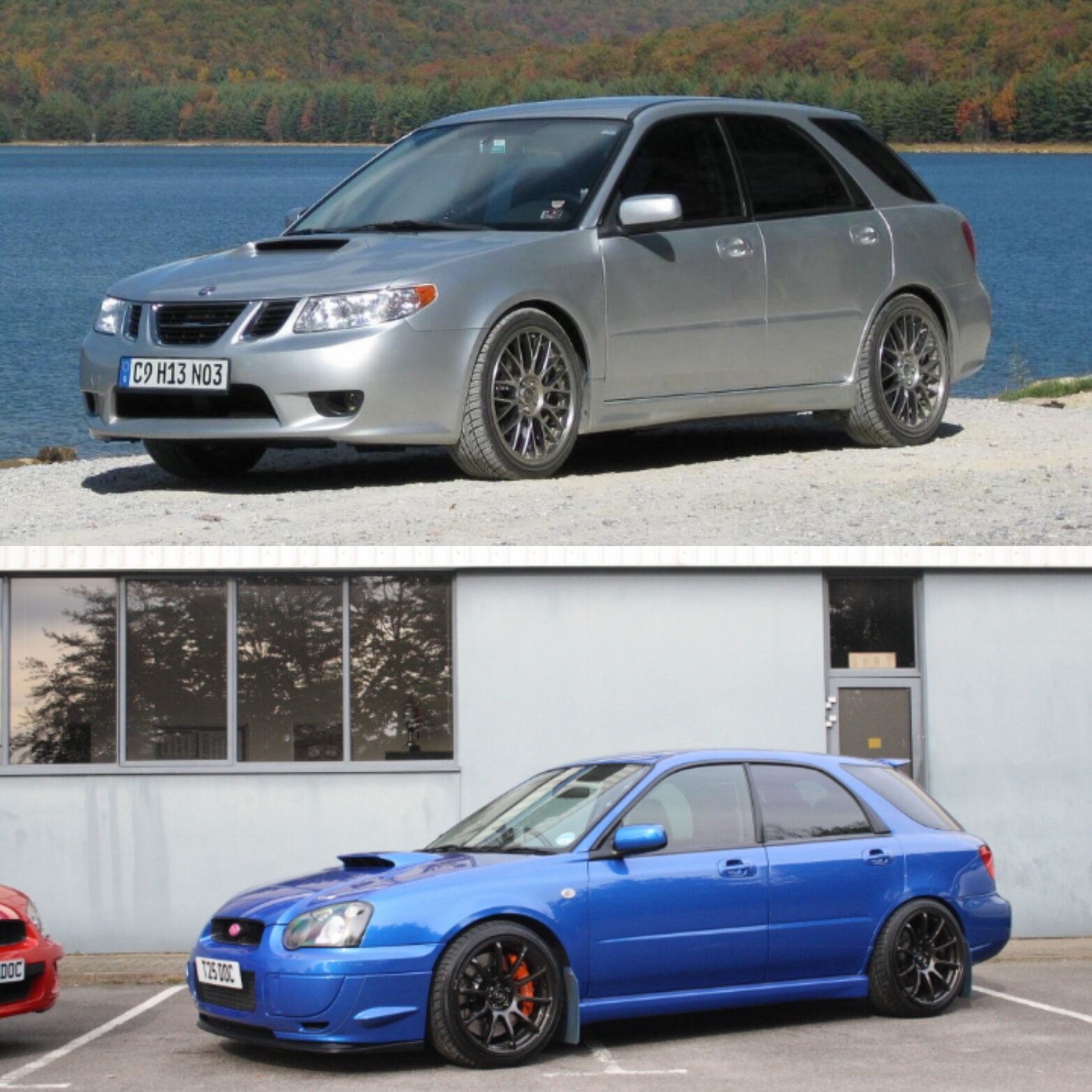 do you prefer the saab 9 2x aero or the subaru impreza wrx sti i would take the saab saabaru. Black Bedroom Furniture Sets. Home Design Ideas