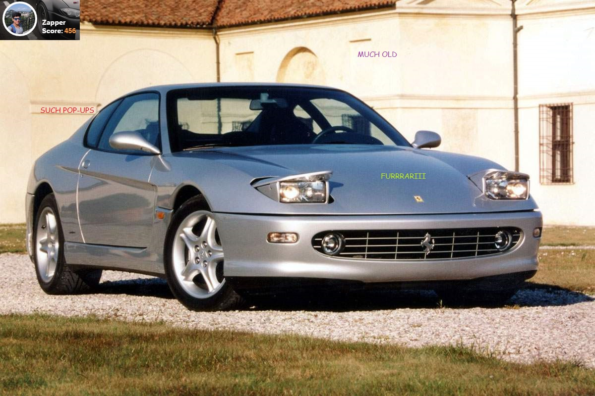 Ferrari 456gt Pop Up Headlights