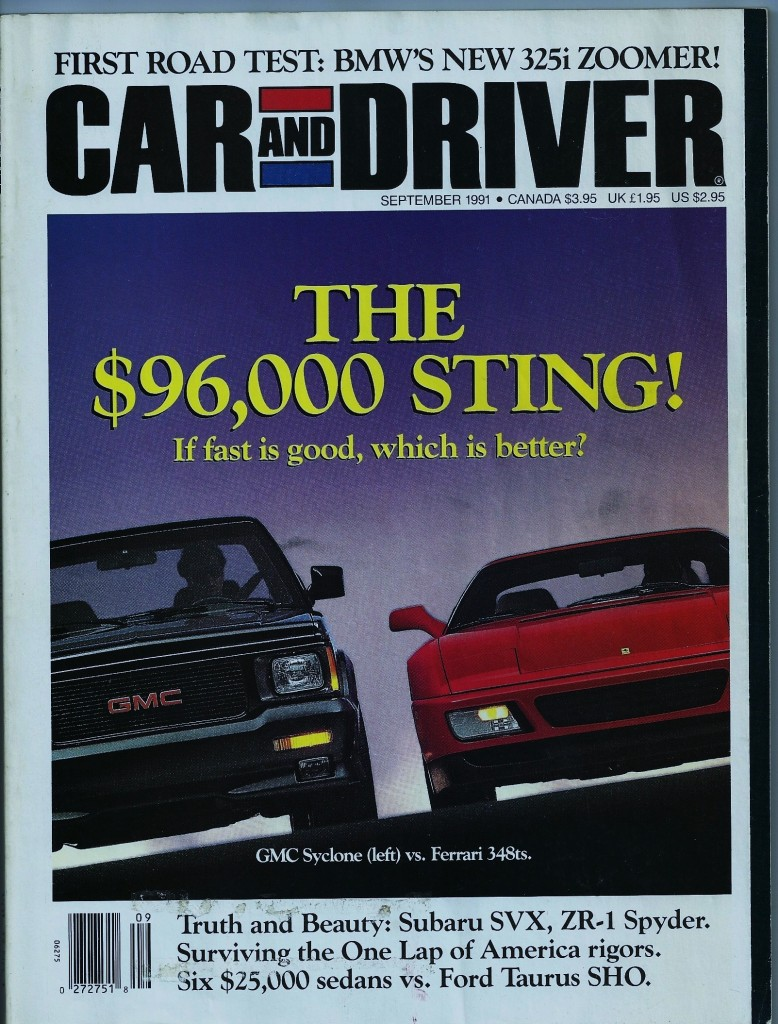 I Saw A Post About Sport Trucks And Just Wanted To Point Out That Once Upon A Time Gm Made A Truck That Could Outrun A Ferrari
