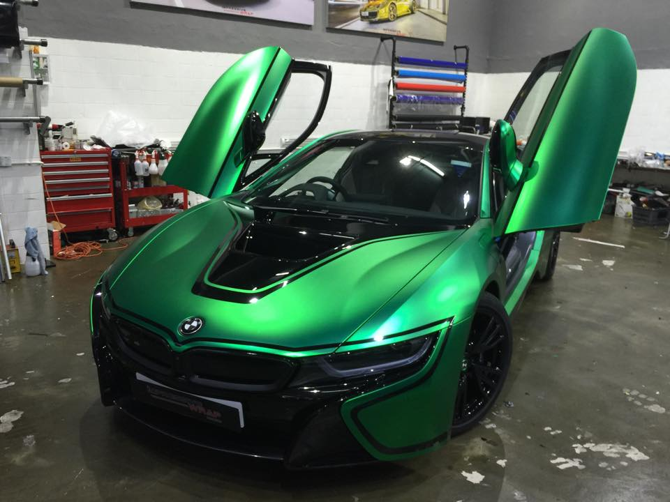Bmw I8 With Custom Color Is Amazing