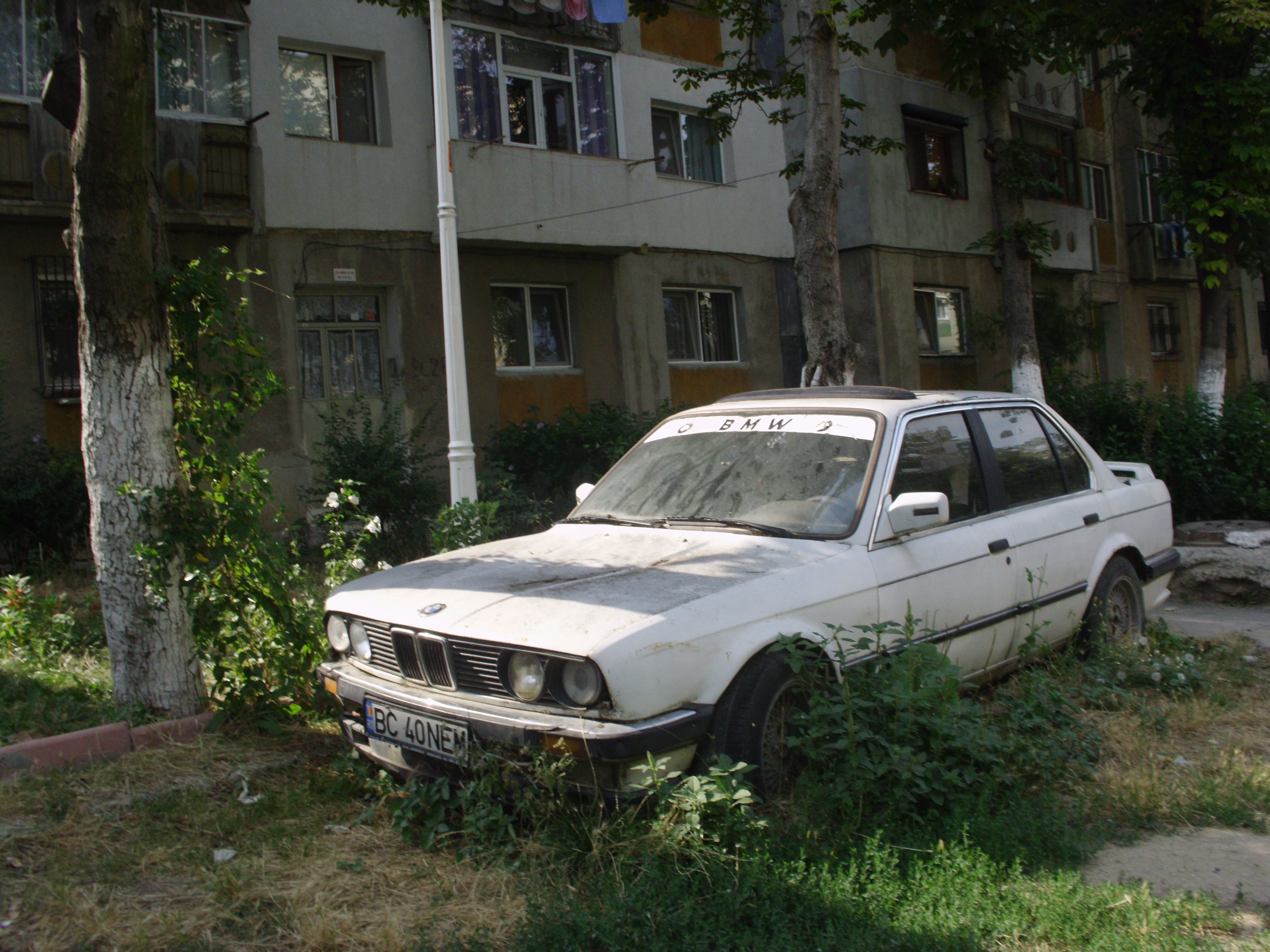 Abandoned Car Today Bmw E30